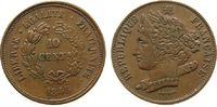 10 Centimes 1848 Frankreich Bronze Domard ...