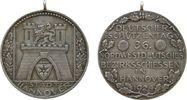 tragbare Medaille 1924 Schützen -- Hannove...