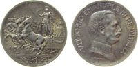 1 Lire 1917 Italien Ag Victor Emanuel III,...