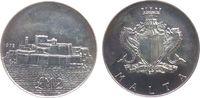 2 Pound 1972 Malta Ag Festung St.Angelo, P...