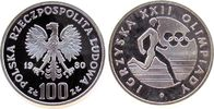 100 Zlotych 1980 Polen Ag Olympiade pp  35,00 EUR  +  8,00 EUR shipping