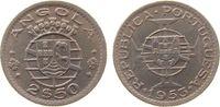 2 1/2 Escudos 1953 Angola KN unter Portuga...