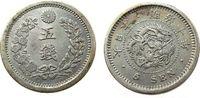 kaiser Mutsuhito- Japan Münzen Japan 5 Sen 1900