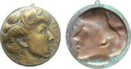 Medaillon o.J. Belgien Bronze Elisabeth Kö...