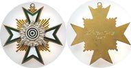 Medaille 1927 Schützen Silber teilemaillie...