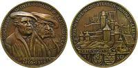 Medaille 1930 Goetz Bronze Luther und Joha...