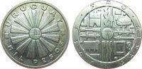 1000 Pesos 1969 Uruguay Ag FAO unz