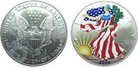 1 Dollar 2000 USA Ag Walking Liberty, colo...