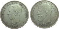 5 Lei 1906 Rumänien Ag Carol I, 40. Regier...