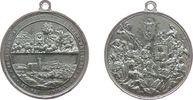 Wallfahrt tragbare Medaille Zinn Frankenthal (Oberfranken) - Erinnerung an die Wallfahrt vierzehn Heiligen,