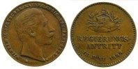 Jetons Jeton Bronze Wilhelm II (1888-1918), auf sein Regierungsantritt, Signatur: L, 22 MM