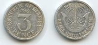 3 Pence 1969 Biafra M#3578 - Republic of B...