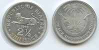 2½ Shillings 1969 Biafra M#3586 - Republic...
