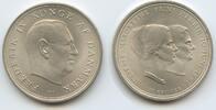 10 Kroner 1967 Dänemark M#5020 Hochzeit Ma...
