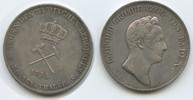 1 Ausbeutetaler (Kronentaler) 1834 Baden-D...