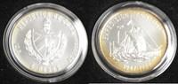 1987 5 Pesos Kuba M#0016 Thor Heyerdahl Ex...