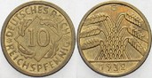 10 Reichspfennig 1932 G   Sehr schön +