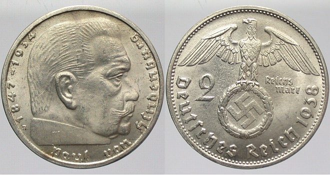 Image result for 2 reichsmark