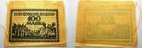100 Mark 15.7.1921 Bielefeld  Einriße auße...