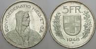 5 Franken 1948 Schweiz-Eidgenossenschaft  ...