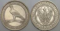 3 Reichsmark 1930 J   Patina, kl. Randfehl...
