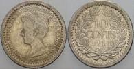 10 Cent 1911 Niederlande-Königreich Wilhel...