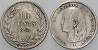 10 Cent 1896 Niederlande-Königreich Wilhel...