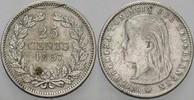 25 Cent 1897 Niederlande-Königreich Wilhel...