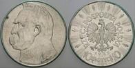 10 Zloty 1935 Polen Republik 1918-1939. Se...