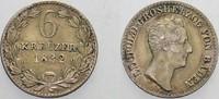 6 Kreuzer 1832 Baden Leopold 1830-1852. Pa...