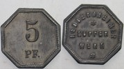 5 Pfennig o.J Heddernheim Kupfer- Werk Seh...