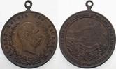 kleine Bronzemedaille 1889 Sachsen-Alberti...