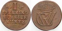 Cu Pfennig 1696 Braunschweig-Lüneburg-Cell...