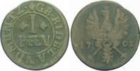 Cu Pfennig 1703 Osnabr Rietberg-Grafschaft...