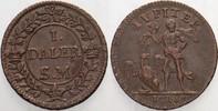 1 Daler  SM 1718 Schweden Carl XII.,  1697...