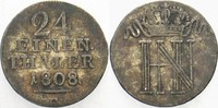 1/24 Taler 1808 F Westfalen, Königreich Hi...