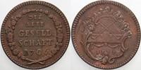 Kupfer Spielmarke 1777 Frankfurt-Stadt  Se...