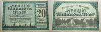 20 Milliarden Mark 1923-10-25 Das Papierno...