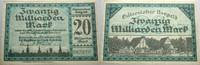 20 Milliarden Mark 1923-10-25 Das Papierno...