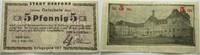 5 Pfennig 1.Juni 1917 Das Papiernotgeld vo...