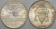 500 Lire 1978 Italien-Kirchenstaat Sede Va...