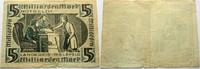 5 Milliarden Mark o. D. Das Papiernotgeld ...