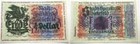 1,05 Goldmark = 1/4 Dollar 8.11.1923 Biele...