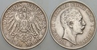 2 Mark 1908 A Preußen Wilhelm II. 1888-191...
