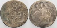 8 Heller 1769 FU Hessen-Kassel Friedrich I...