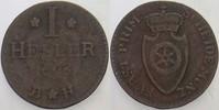 1 Heller 1808 Fürstprimatische Staaten Für...
