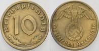10 Reichspfennig 1936 G   Sehr schön