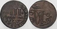 3 Pfennig 1760 Rheda Bentheim Moritz Casim...