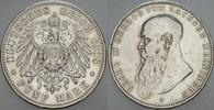 5 Mark 1908 D Sachsen-Meiningen Georg II. ...