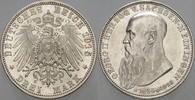 3 Mark 1915 D Sachsen-Meiningen Georg II. ...